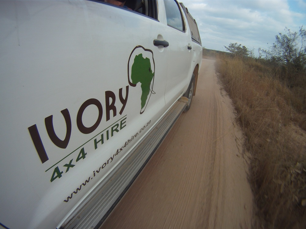 Ivory 4x4 hire